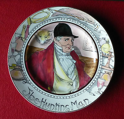 ROYAL DOULTON  Professional Series Plate - The Hunting Man D6282