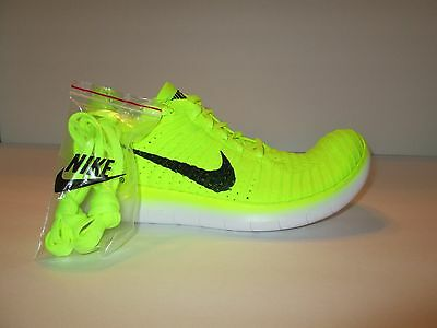 1c8b1ee074d WOMENS NIKE FREE RN Flyknit MS SIze 11 Running Shoes 842546 701 RIO MEDAL  STAND