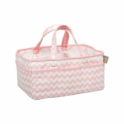 Trend Lab Pink Sky Storage Caddy beige