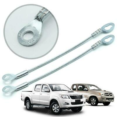 For Toyota Hilux Vigo Champ 2005 2006 13 Tail Gate Tailgate Handle Cover Chrome