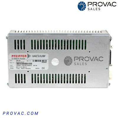 Pfeiffer TPS-201 Controller, Rebuilt By Provac Sales, Inc.