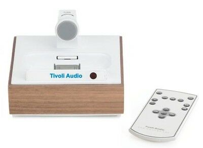 Tivoli Audio The Connector Walnuss NEU iPod / iPhone-Dock mit 30-Pin Anschluss