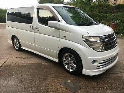 2004Fresh Import Facelift Nissan Elgrand Rider E51 Limited Edition Switchable4X4