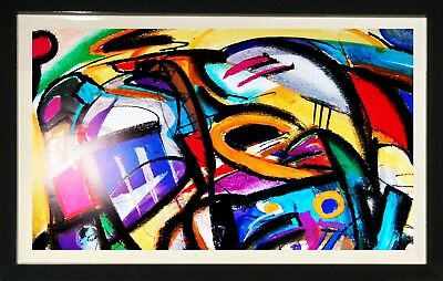 Abstract Art by Alfred Gockel (Framed Contemporay Home Decor)