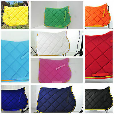 English Jump Ap Saddle Pad, Lots Of Colors