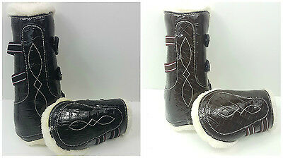 Set Of Four Croc Tendon/jumping Boots