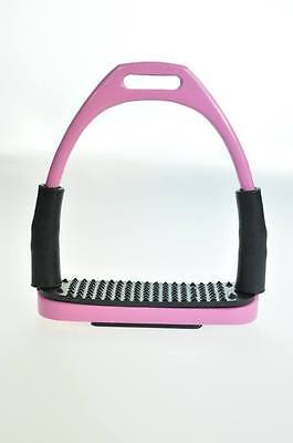 5 /14 Inch Pale Pink Stainless Steel Flex Stirrups
