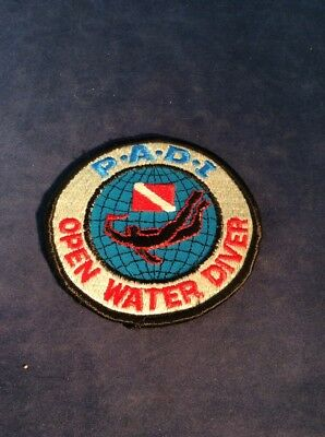 Vintage Original PADI Open Water Diver Patch