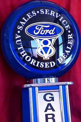 Ford V8 WALL-MOUNTED GARAGE SIGN