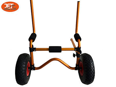 Foldable Kayak Collapsible Canoe Wheel Cart Boat Carrier Trolley-JET02012GLD