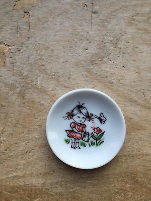 Antique Early 1900's Japan Miniature Dish