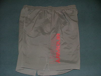 Men's Under Armour Loose Gray Athletic Shorts XL Style 1291323
