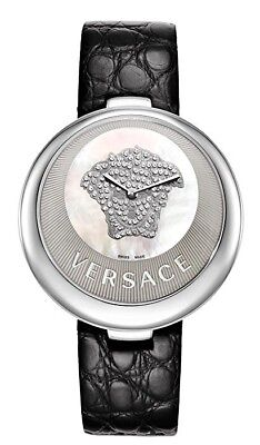Versace Women's 87Q99SD497S009  Perpetuelle Mother Of Pearl Dial Diamonds Watch