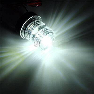 1* Marine Boat Yacht Navigation Anchor Light All Round 360° White LED Waterproof
