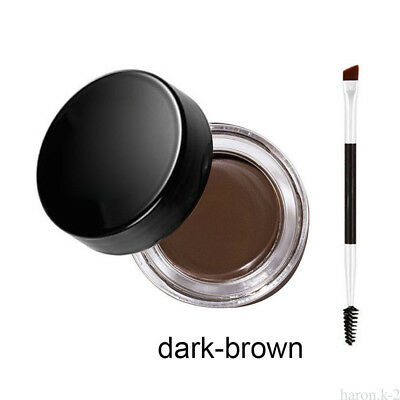 Eyebrow Pomade Definer waterproof 5 Colors / Eyebrow Brush Makeup Tools BG67