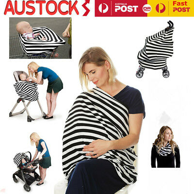 Nursing Breastfeeding Cover Scarf Baby Car Seat Canopy Maternity Cover Canopy