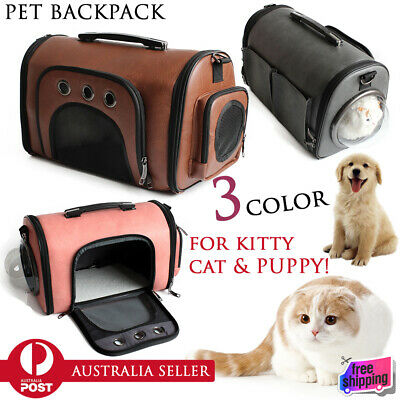 Pet Dog Cat Kitty Puppy Sling Shoulder Backpack Capsule Astronaut Travel Bag