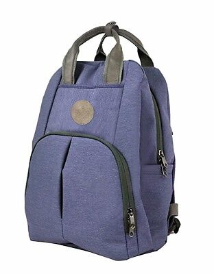 Premium Cashay Diaper Bag Backpack Blue With Great Features For Dad and Mom