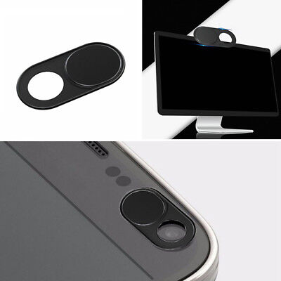 Round Black Webcam Camera Protector Cover Shield For Laptop Tablet Smartphone HQ