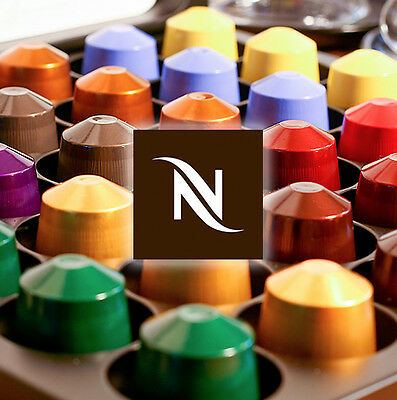 100 Nespresso Capsules Pods, Brand New,  Pick Your Choice 24 Flavours
