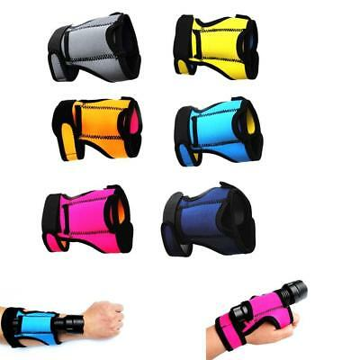 Adjustable Hand Arm Wrist Strap Hand Mount for Scuba Dive Light Underwater Torch