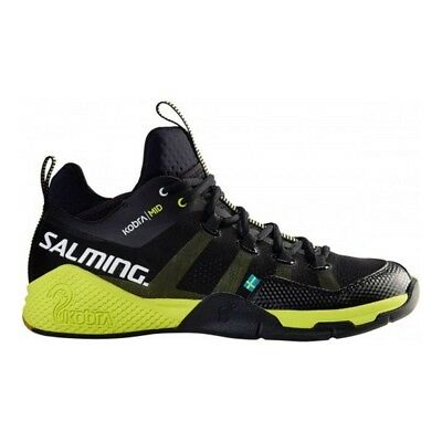 Salming Mens Kobra Mid Indoor Court Shoes - NEW Trainers Squash Badminton
