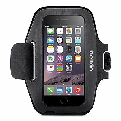 Belkin Sport-Fit Armband for iPhone 6 6S Sweat Protection Hand protection Black