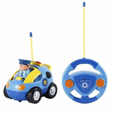RC Race Car Toy Radio Remote Control Cars for Kids Toddlers With Music and Light