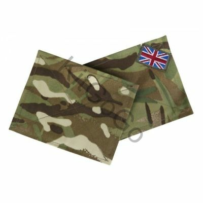 British Army MTP Multicam Blanking Patches Panel Uniform UBACS Shirts Smocks