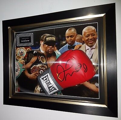 ** FLOYD MAYWEATHER Signed GLOVE & AFTAL DEALER Approved *