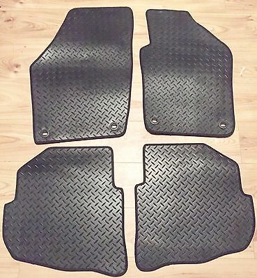 Toyota Yaris MK II 2006-2011 - TAILORED FLOOR CAR MATS RUBBER HEAVY DUTY DURABLE