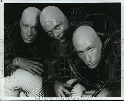 1992 Press Photo Phil Stanton, Chris Wink & Matt Goldman are Blue Man Group