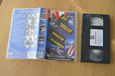 Formula 1 World Championship Review (VHS, 1998) - Down to the Last 30 Minutes