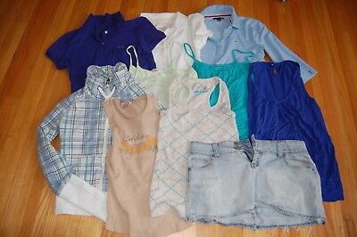 women's clothing lot, guess, tommy hilfiger, american eagle, esprit, garage