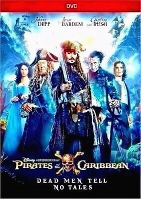 Pirates of the Caribbean: Dead Men Tell No Tales:NEW [DVD, 2017]-SHIPS ON 10-03
