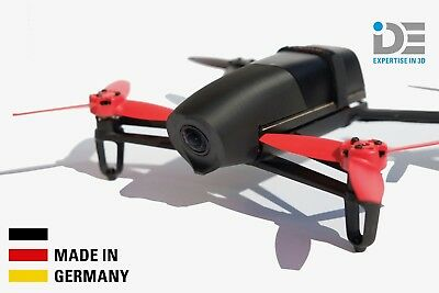 PARROT BEBOP DRONE 1 plastic hood nose BLACK - Made in Germany