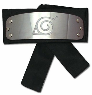 Great Eastern Entertainment Naruto Shippuden Naruto Leaf Village Headband NEW!