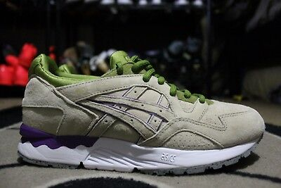 new arrival 46d9b 1cdbe NEW ASICS GEL LYTE V 5 CONCEPTS SIZE 8 CNCPTS BEIGE PISTACHIO GREEN GREY  WHITE