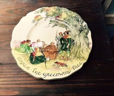 Royal Doulton Plate- Under The Greenwood Tree