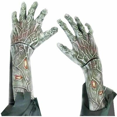 Halloween Holiday NEW Scary Zombie Hands Arm Gloves Dead Costume Haunted Creepy