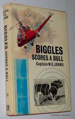 BIGGLES SCORES A BULL. An Adventure of Biggles and the Air Police  HB/DJ  1st ED