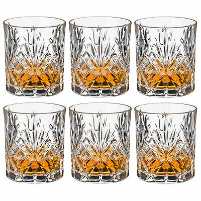 NEW RCR Crystal Melodia DOF Tumbler Set 6pce 310ml