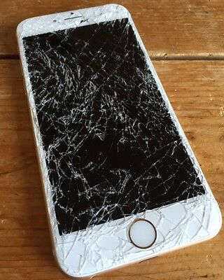 iPhone 6 Plus Cracked Broken LCD Glass Screen Repair Service