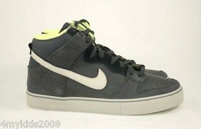 huge discount 2f41c ee9e8 NIKE DUNK HIGH LR SB Sz 10 Classic Stealth Yellow NEW Skater Shoes 487924  007