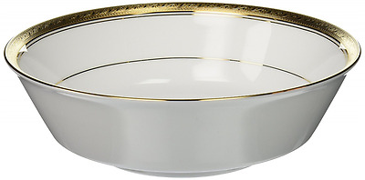 Noritake Crestwood Gold Round Vegetable Bowl