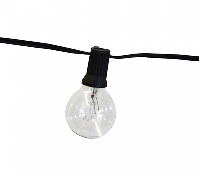 String Light Company Party Light 100-Ft Globe String Lights with 100 Sockets and