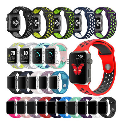 Cinturino Bracciale Silicone Sport Band per Apple Watch 40mm 44mm 38mm 42mm