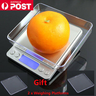 3KG/0.1G Kitchen LCD Digital Electronic Balance Food Weight Scale Scales Pocket