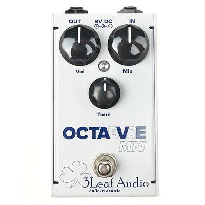 3 Leaf Audio Octabvre Mini Octave Bass Guitar Effects Pedal