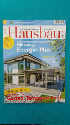 Hausbau 7/8 2017 ungelesen 1A absolut TOP